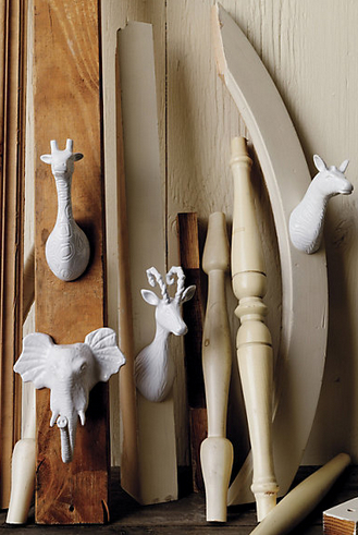 Animal  Hooks, Anthropologie, $20