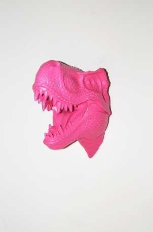 bubblegum-pink-resin-t-rex-head1